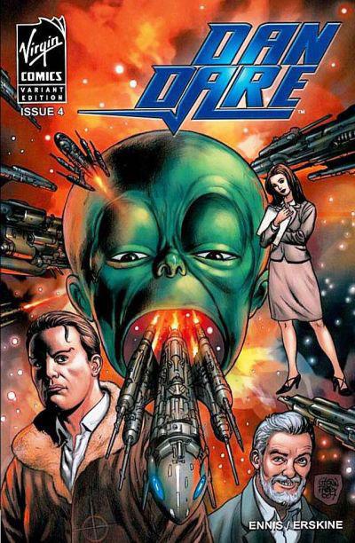 Cover for Dan Dare (Virgin, 2007 series) #4