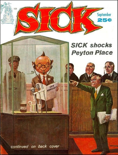 Cover for Sick (Prize, 1960 series) #v2#2 [8]