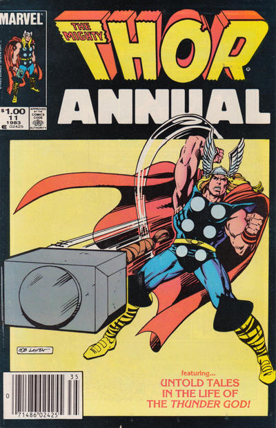 Cover for Thor Annual (Marvel, 1966 series) #11 [Newsstand]