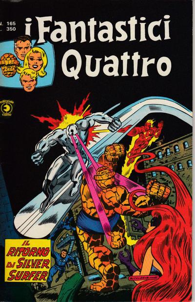Cover for I Fantastici Quattro (Editoriale Corno, 1971 series) #165