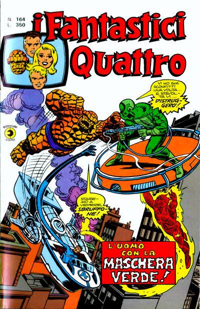 Cover for I Fantastici Quattro (Editoriale Corno, 1971 series) #164