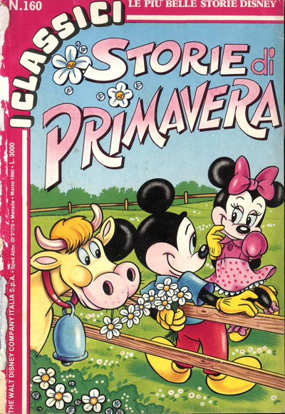 Cover for I Classici di Walt Disney (The Walt Disney Company Italia, 1988 series) #160