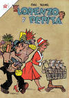 Cover for Lorenzo y Pepita (Editorial Novaro, 1954 series) #155