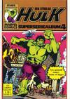 Cover for Hulk album (Atlantic Forlag, 1979 series) #4 - Hulk Superseriealbum