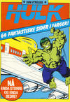 Cover for Hulk album (Atlantic Forlag, 1979 series) #7