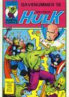 Cover for Hulk album (Atlantic Forlag, 1979 series) #10 - Hulk gavenummer