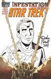 Cover for Star Trek: Infestation (IDW, 2011 series) #1 [Cover RI B]