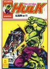 Cover for Hulk album (Atlantic Forlag, 1979 series) #11 - Hulk gavenummer