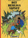 Cover for Tintins äventyr (Carlsen/if [SE], 1972 series) #10 - Det hemliga vapnet