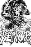 Cover Thumbnail for Venom (2011 series) #1 [Variant Edition - Joe Quesada Black and White Cover]