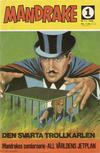 Cover for Mandrake (Semic, 1967 series) #1/1968