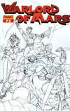 "Cover for Warlord of Mars (Dynamite Entertainment, 2010 series) #2 [""Sketch"" retailer incentive cover]"