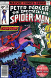 Cover Thumbnail for The Spectacular Spider-Man (1976 series) #10 [35 cent cover price variant]