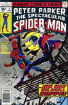 Cover Thumbnail for The Spectacular Spider-Man (1976 series) #8 [35 cent cover price variant]