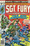 Cover Thumbnail for Sgt. Fury and His Howling Commandos (1974 series) #142 [35 cent cover price variant]