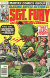 Cover Thumbnail for Sgt. Fury and His Howling Commandos (1974 series) #141 [35 cent cover price variant]
