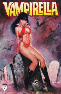 Cover Thumbnail for Vampirella (Harris Comics, 2001 series) #11 [Joe Chiodo Cover]