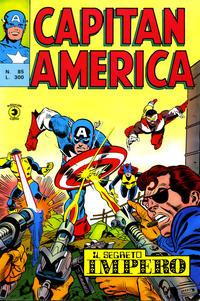 Cover Thumbnail for Capitan America (Editoriale Corno, 1973 series) #85