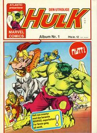 Cover Thumbnail for Hulk album (Atlantic Forlag, 1979 series) #1