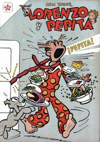 Cover Thumbnail for Lorenzo y Pepita (Editorial Novaro, 1954 series) #168