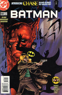 Cover Thumbnail for Batman (DC, 1940 series) #550 [2.95 USD No Trading Card]