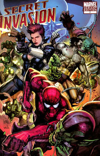 Cover Thumbnail for Secret Invasion (Marvel, 2008 series) #7 [Leinil Yu Variant Cover]
