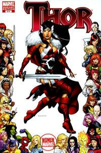 Cover Thumbnail for Thor (Marvel, 2007 series) #614 [Women of Marvel]