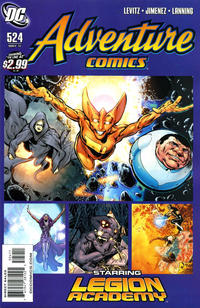 Cover for Adventure Comics (DC, 2009 series) #524