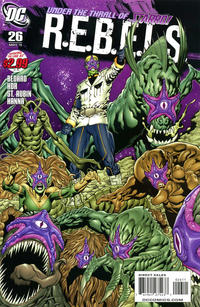 Cover Thumbnail for R.E.B.E.L.S. (DC, 2009 series) #26