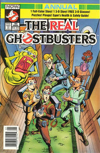 Cover for The Real Ghostbusters 3-D Annual (Now, 1992 series) #1