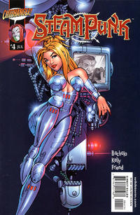 Cover Thumbnail for Steampunk (DC, 2000 series) #4 [Chris Bachalo Cover]