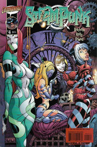 Cover Thumbnail for Steampunk (DC, 2000 series) #4 [J. Scott Campbell Cover]