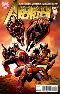 Cover Thumbnail for Avengers (Marvel, 2010 series) #1 [John Romita Sr. Variant Cover]