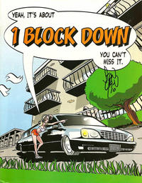 Cover Thumbnail for 1 Block Down (Dusk Books, LLC., 2004 series)