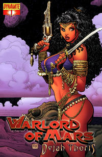 Cover Thumbnail for Warlord of Mars: Dejah Thoris (Dynamite Entertainment, 2011 series) #1 [Cover A - Art Adams Cover]