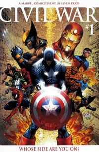 Cover Thumbnail for Civil War (Marvel, 2006 series) #1 [Michael Turner Color Variant]