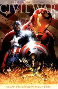 Cover Thumbnail for Civil War (Marvel, 2006 series) #1 [Aspen Comics Exclusive Variant Cover]