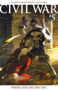 Cover Thumbnail for Civil War (Marvel, 2006 series) #5 [Retailer Incentive Color Cover]