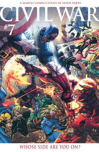 Cover Thumbnail for Civil War (Marvel, 2006 series) #7 [Retailer Incentive Color Cover]