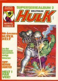 Cover Thumbnail for Hulk album (Atlantic Forlag, 1979 series) #2 - Topphemmeligheten