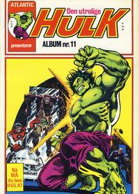 Cover Thumbnail for Hulk album (Atlantic Forlag, 1979 series) #11 - Hulk gavenummer