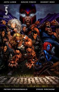 Cover Thumbnail for Ultimatum (Marvel, 2009 series) #5 [Variant Edition - Double Gatefold]