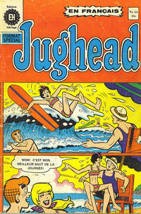 Cover Thumbnail for Jughead (Editions Héritage, 1972 series) #44