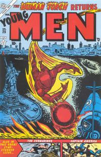 Cover Thumbnail for Young Men #25 [JC Penney Marvel Vintage Pack] (Marvel, 1994 series)