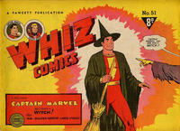 Cover Thumbnail for Whiz Comics (Cleland, 1946 series) #51