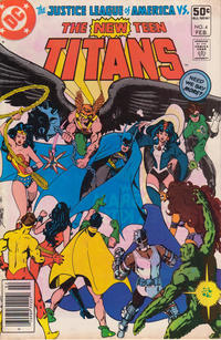 Cover Thumbnail for The New Teen Titans (DC, 1980 series) #4 [Newsstand]