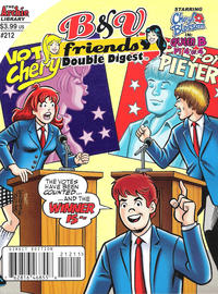 Cover Thumbnail for B&V Friends Double Digest Magazine (Archie, 2011 series) #212 [Direct Edition]