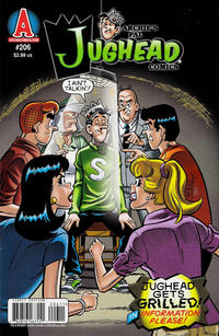 Cover for Archie's Pal Jughead Comics (Archie, 1993 series) #206