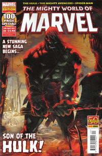 Cover Thumbnail for The Mighty World of Marvel (Panini UK, 2009 series) #20