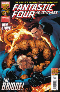 Cover Thumbnail for Fantastic Four Adventures (Panini UK, 2010 series) #14